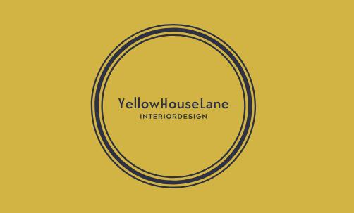 Yellow House Lane Interior Design Contact Card