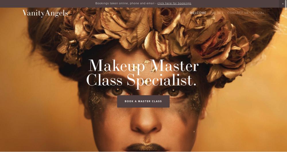 Vanity Angels - Makeup Masterclasses