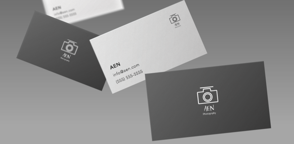 AEN Photography Business Cards