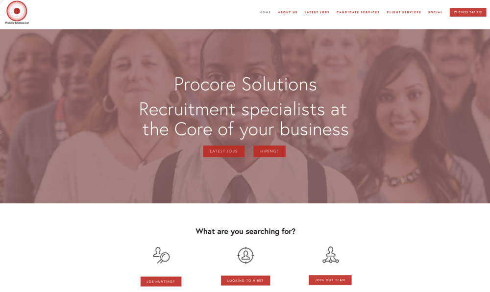 ProCore Recruitment Solutions  www.procorerec.com