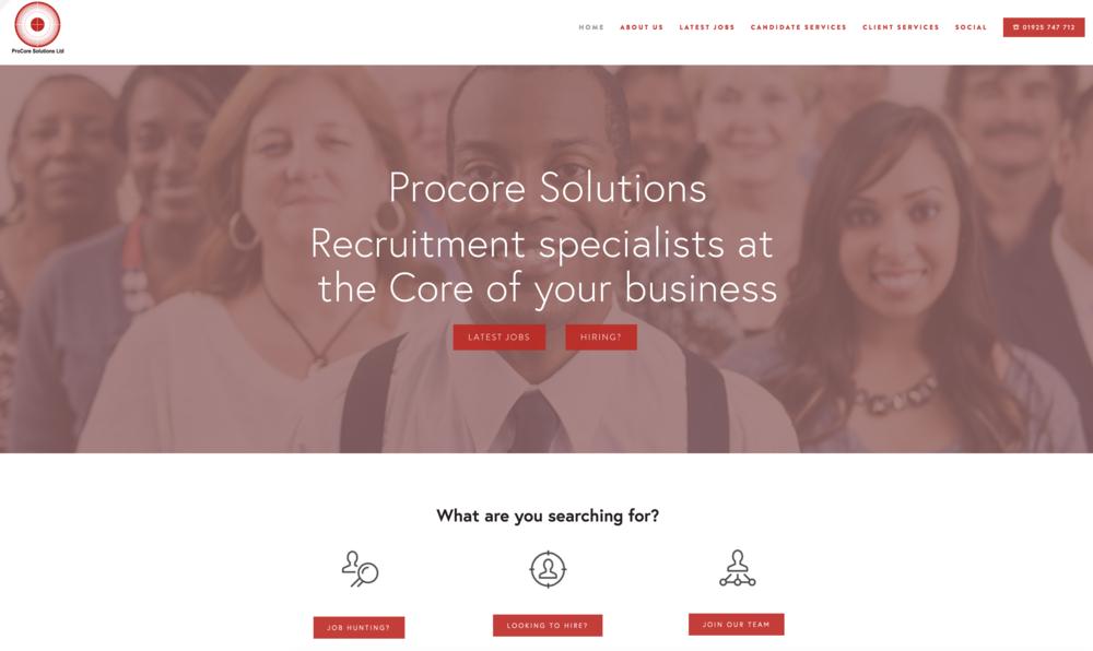 ProCore Recruitment Solutions  www.procorerec.com