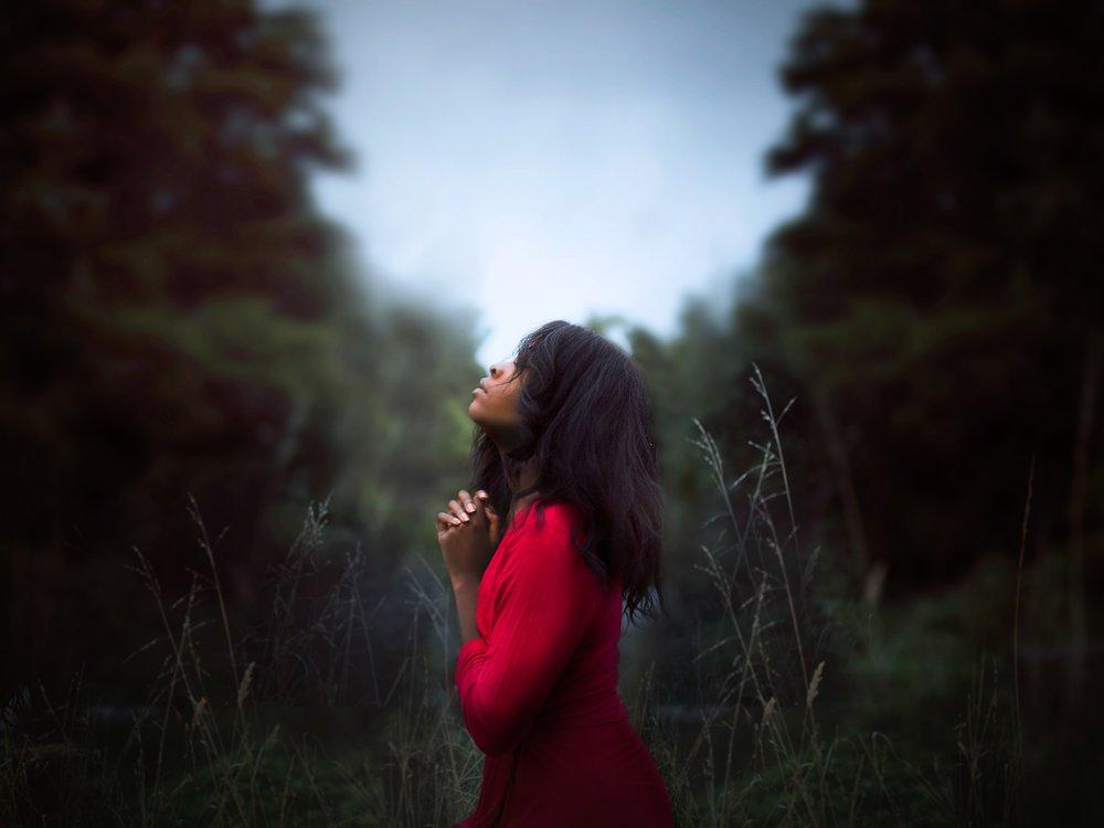 STOP TELLING ME TO PRAY