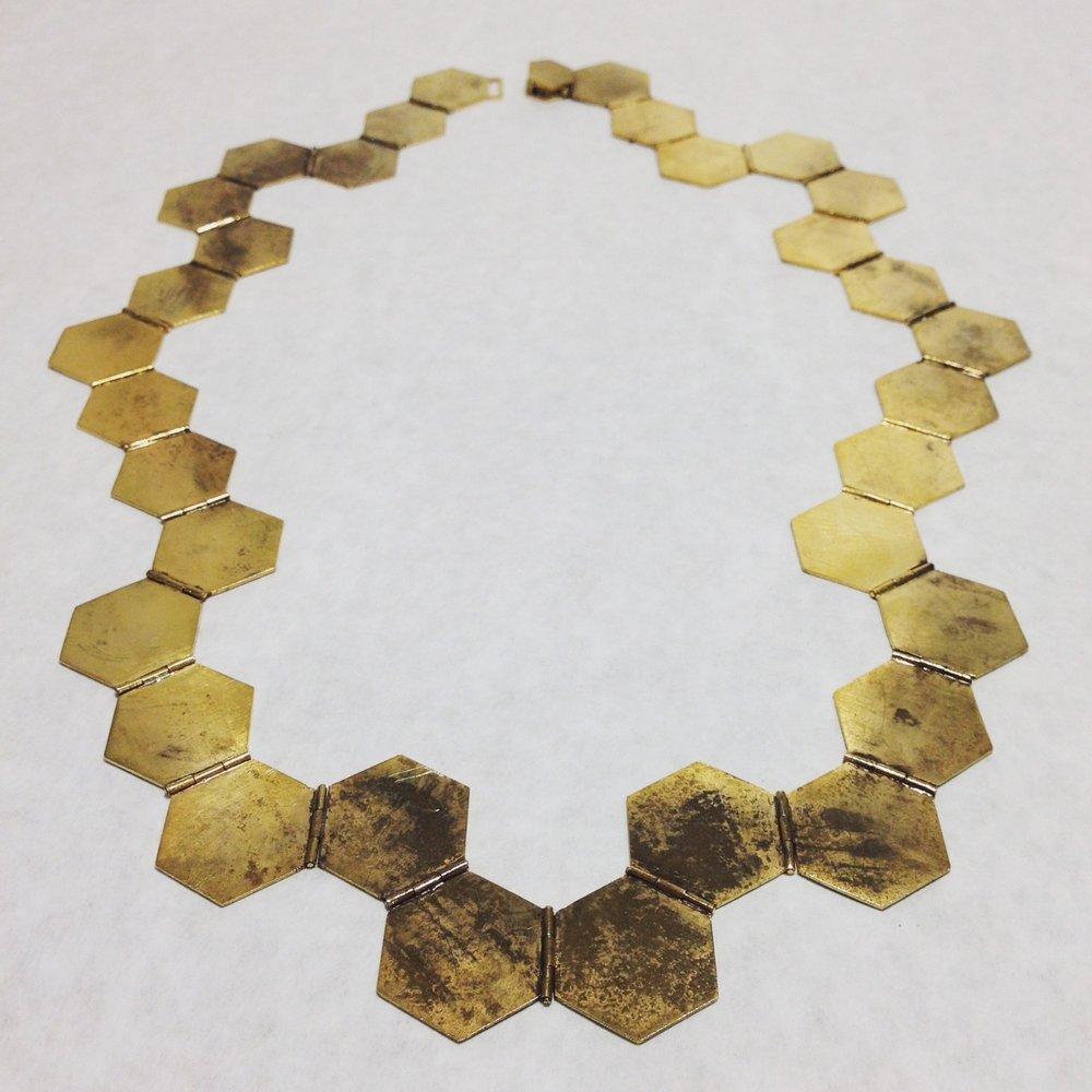 Bronze, Brass, 24k Gold Plate, Patina - 10'' x 16''
