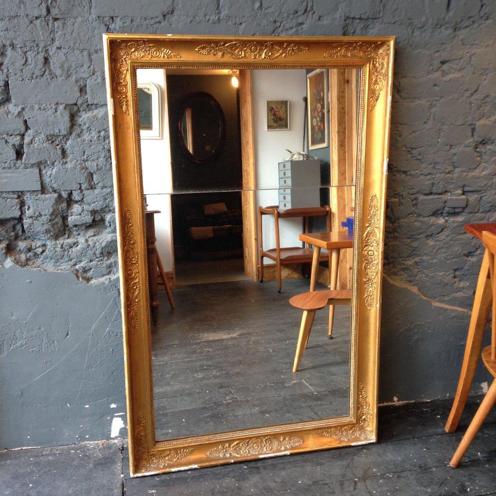 Mercury split mirror