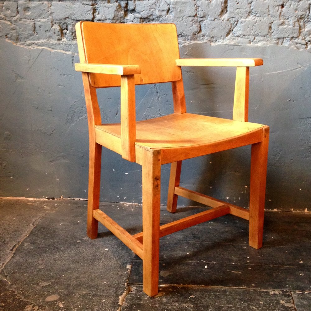 1950's Teachers arm chair