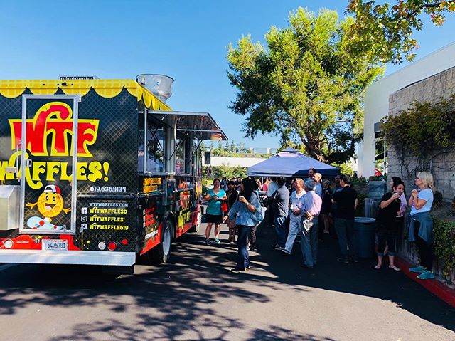 #waffles were the magic word today @theparksd thanks to @wtfwafflesd