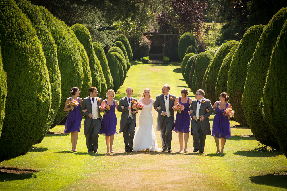 The avenue of trees is a favourite location for group photographs and for some romantic images too!