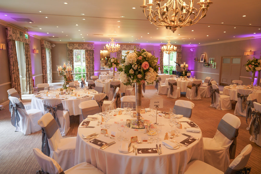 A fabulous room for your wedding breakfast.