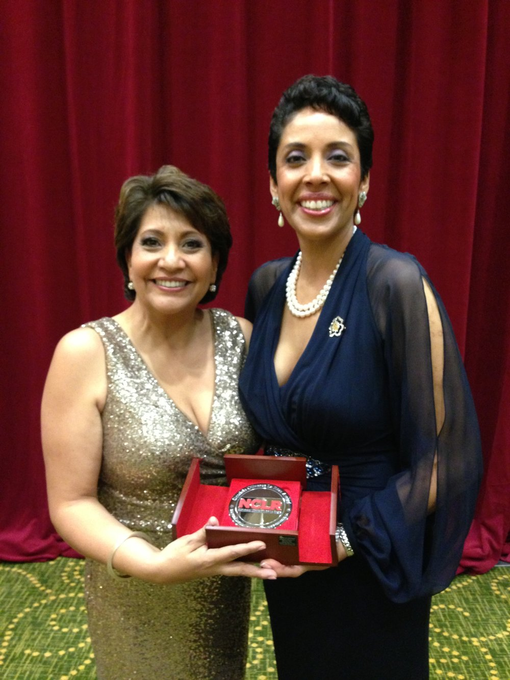 Janet Murguia, National Council of La Raza's President and CEO, Awarding Anna Maria Chávez