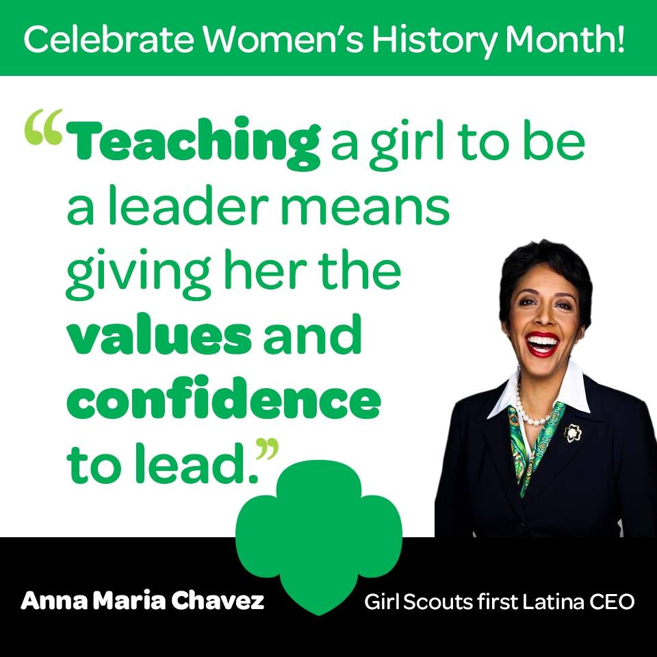 Celebrate Women's History Month: Anna Maria Chavez