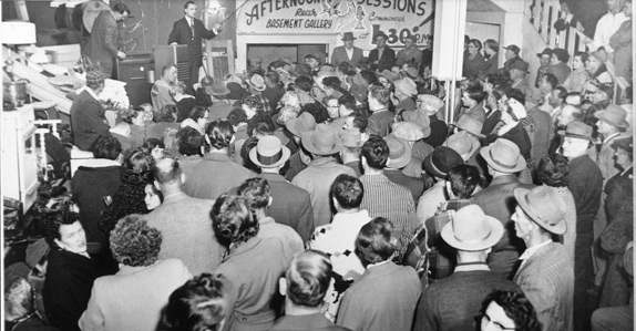 The first unreserved Ritchie Bros. auction in 1958