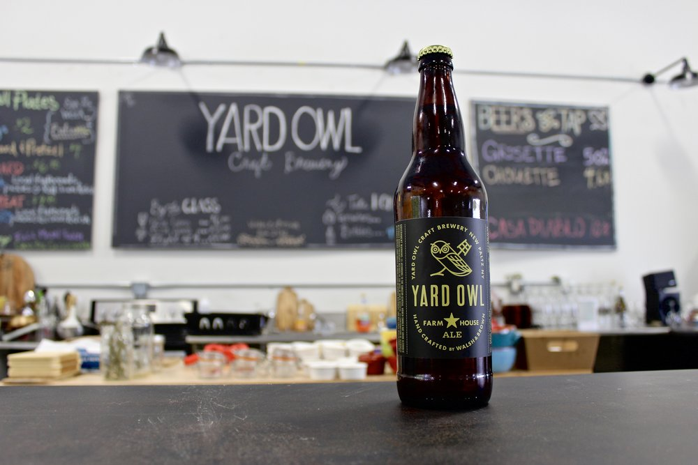 YARD OWL CRAFT BREWERY - Started in a 400 square foot shed, brew masters James Walsh and Kristop Brown came together to create an old European style in the new world of brewing.  Only the best ingredients are used in every batch with attention to detail is made by