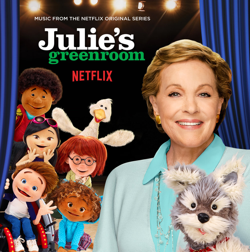 Julie's Greenroom(Music from the Netflix Original Series) - Sing along to your favorite Julie's Greenroom songs! Composed by Ryan Shore, the soundtrack features a variety of songs sung by the cast and the show's guest stars, from Julie Andrews to Alec Baldwin.