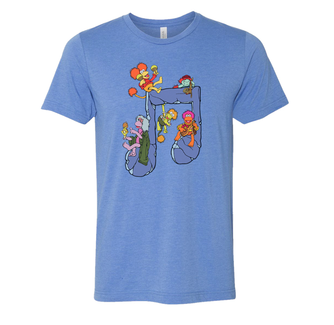 """Fraggle Rock"" Tee Shirts"