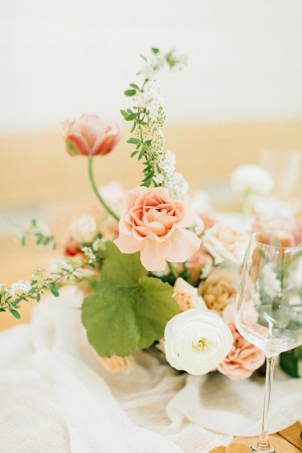 Wedding flowers by Color Theory Collective