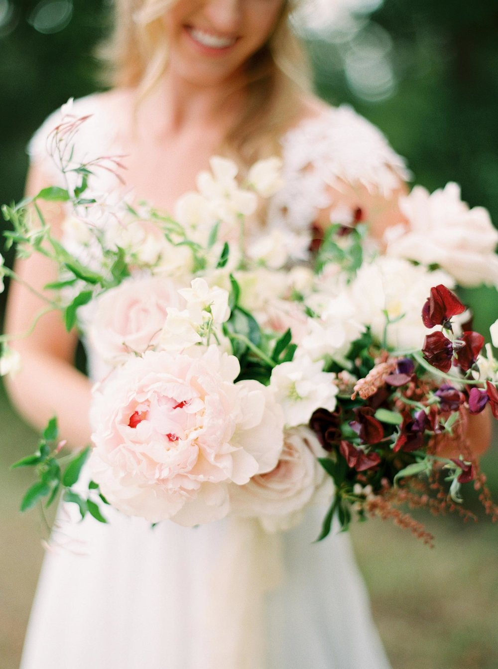 Wedding bouquet by Color Theory Collective