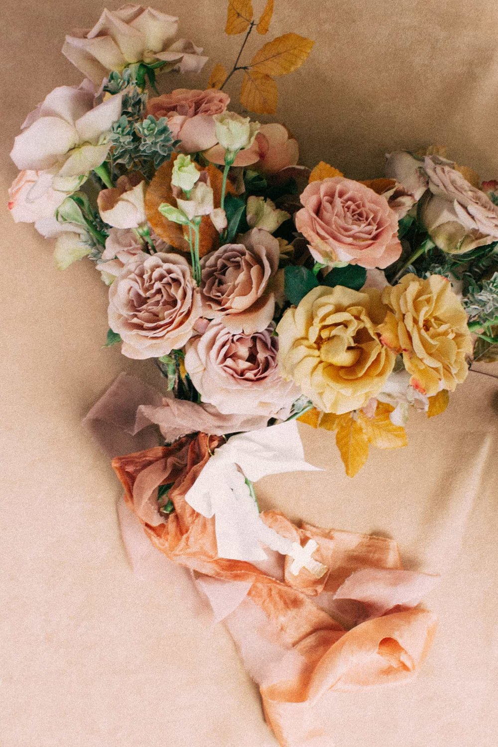 Bridal bouquet by Color Theory Collective
