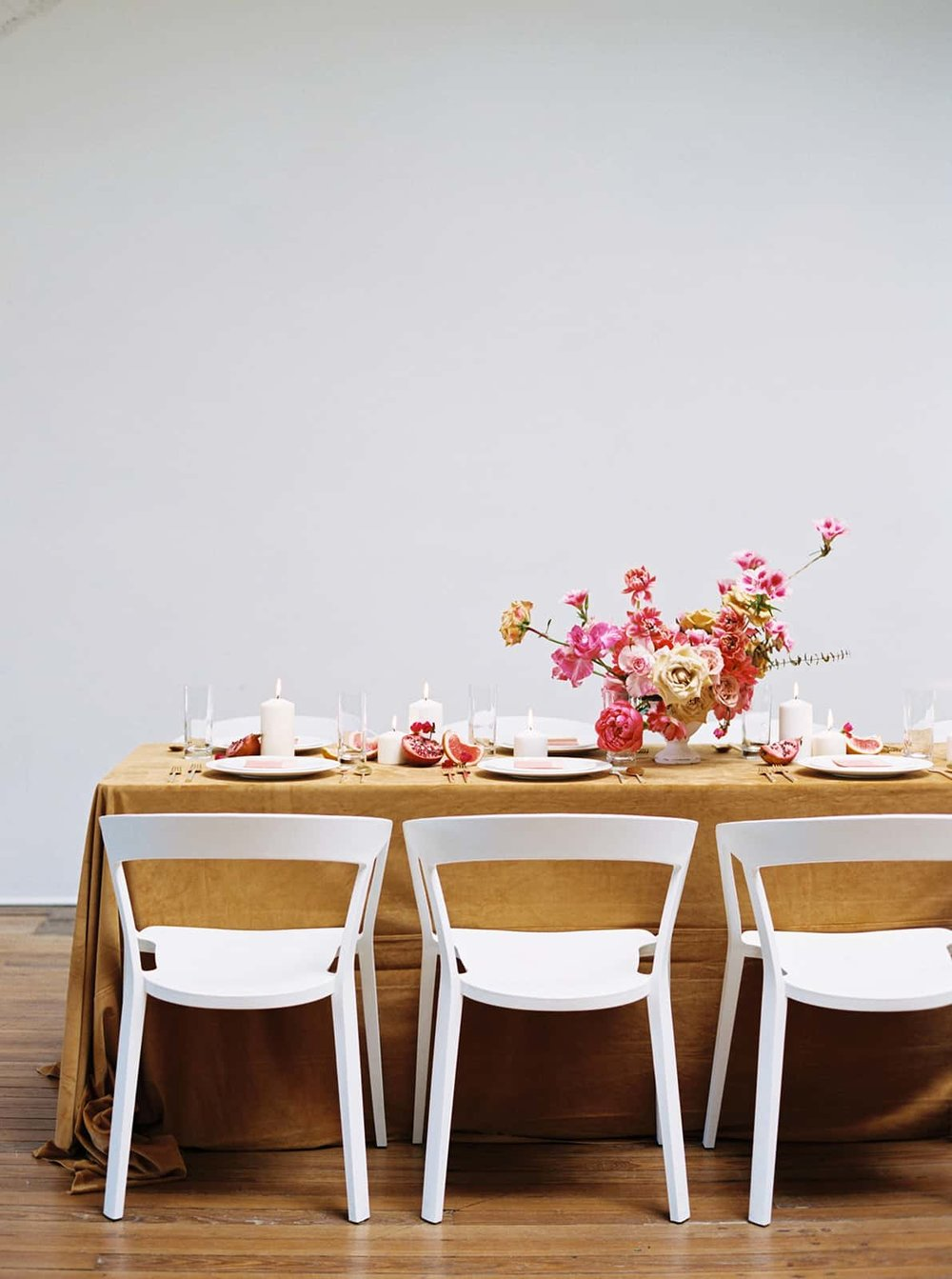 Wedding styling and floral design by Color Theory Collective