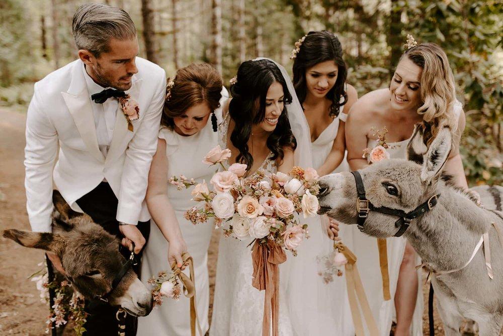 Copy of Fun Bridal Bouquet Photo in Portland
