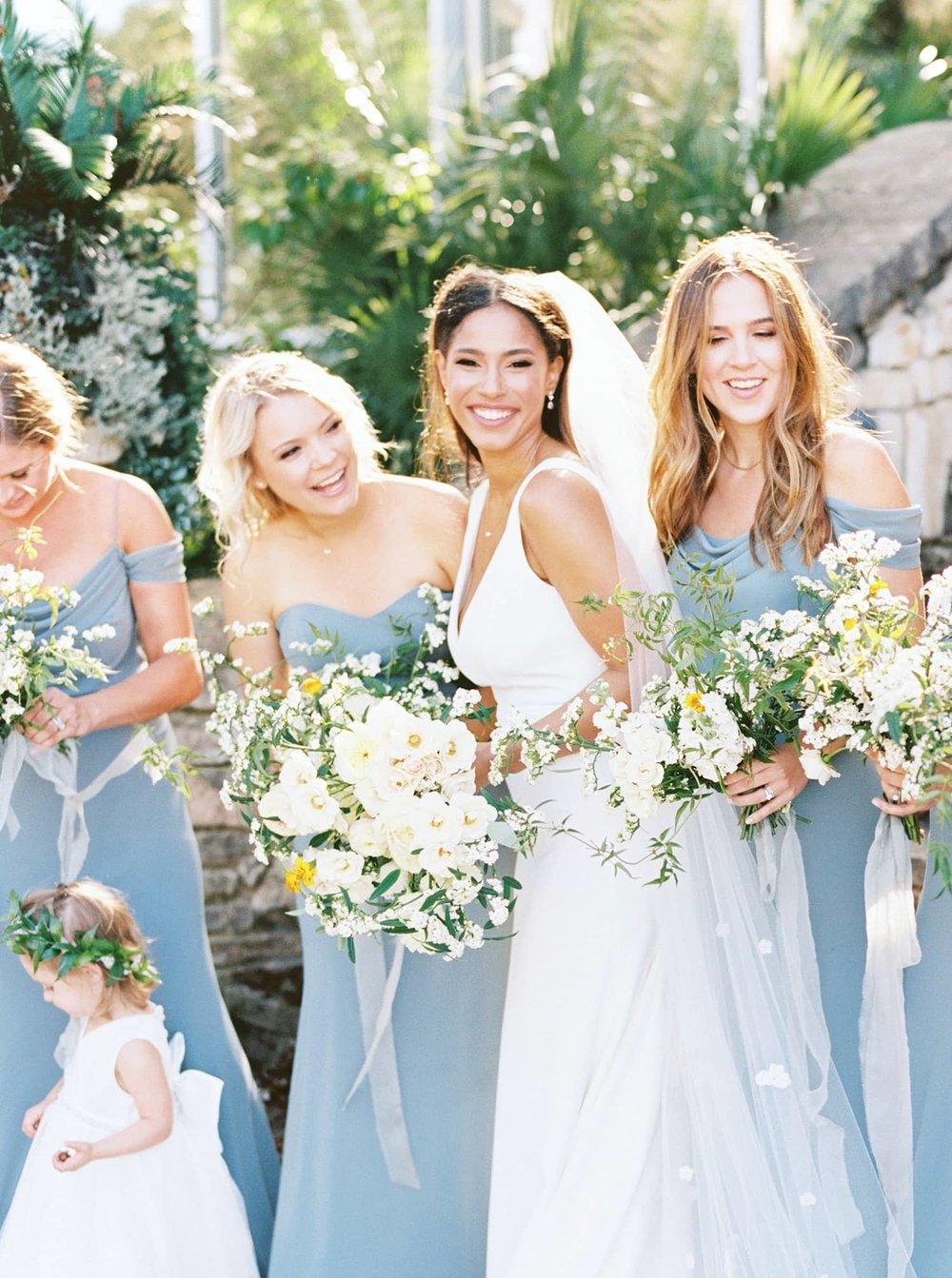 Spring Bouquets Designed for Bridal Party