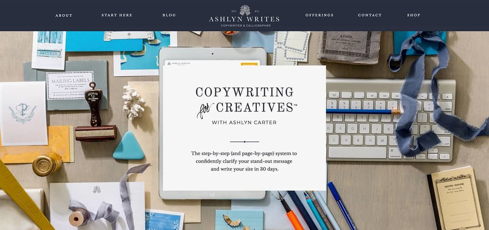 Copywriting for Creatives - By Ashlyn Carter