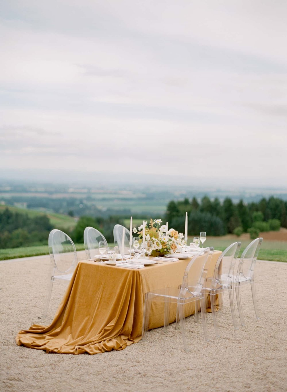 Tablescape designed by Portland Planner Vanity Affair Events