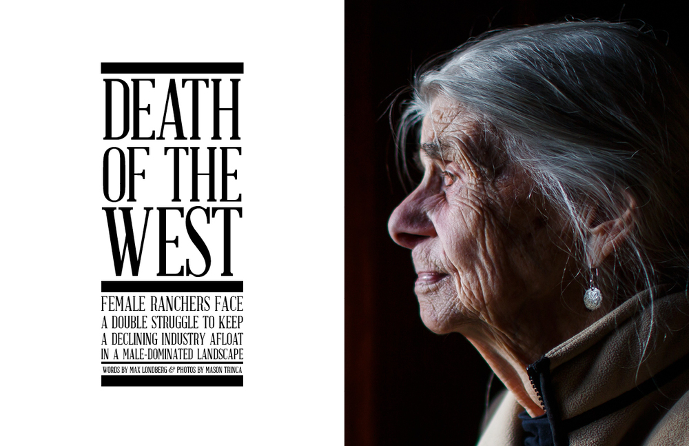 Death of the West (FLUX magazine), print, 2013