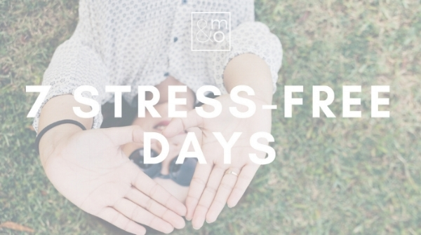 stress-free days header
