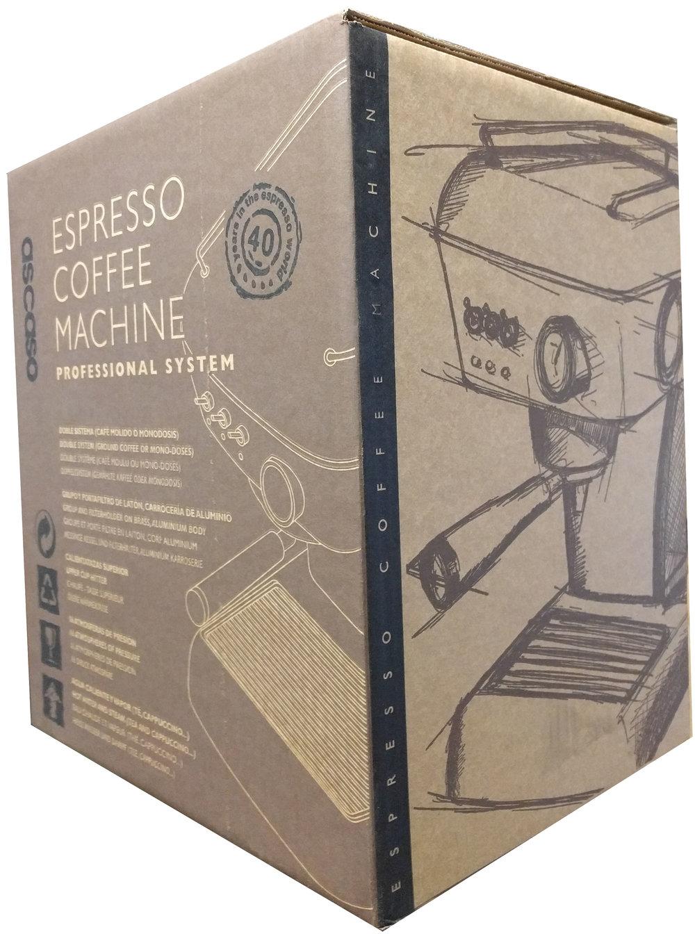 Ascaso dream Espresso machine: Retail $899.