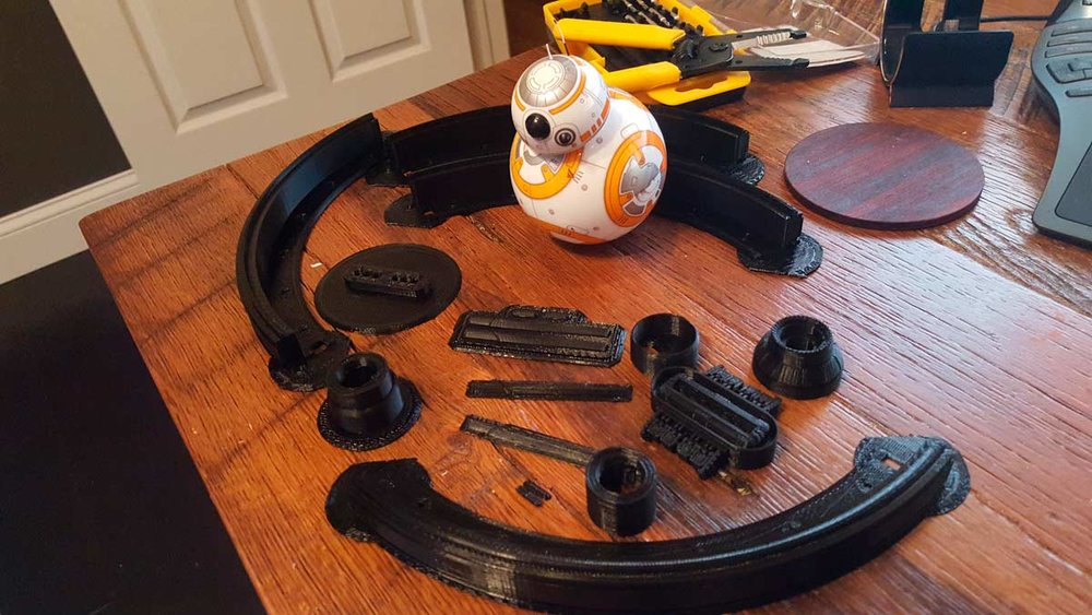 Sphero BB-8 inspects the manufacturing of his big brother