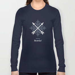 $28.99 on Society6 • Winter Wanderlust Long Sleeve Tee by Busy Campers