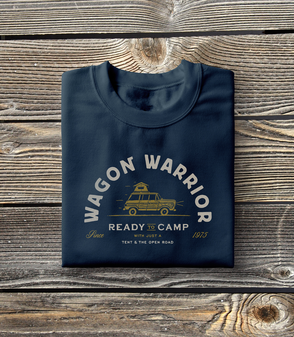 Wagon Warrior Tee by Busy Campers • $24.99 on Society6