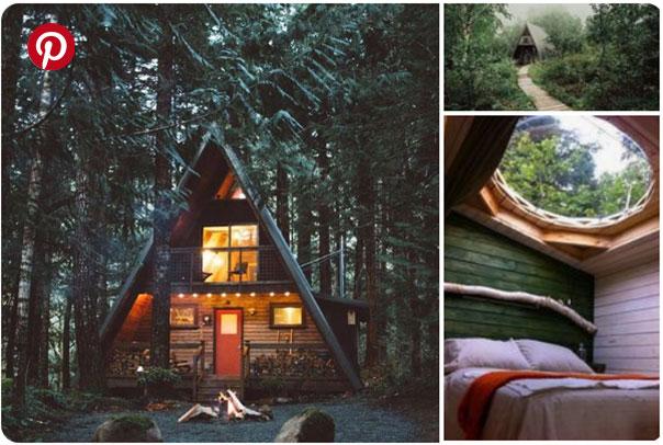 Cabin Envy on Pinterest