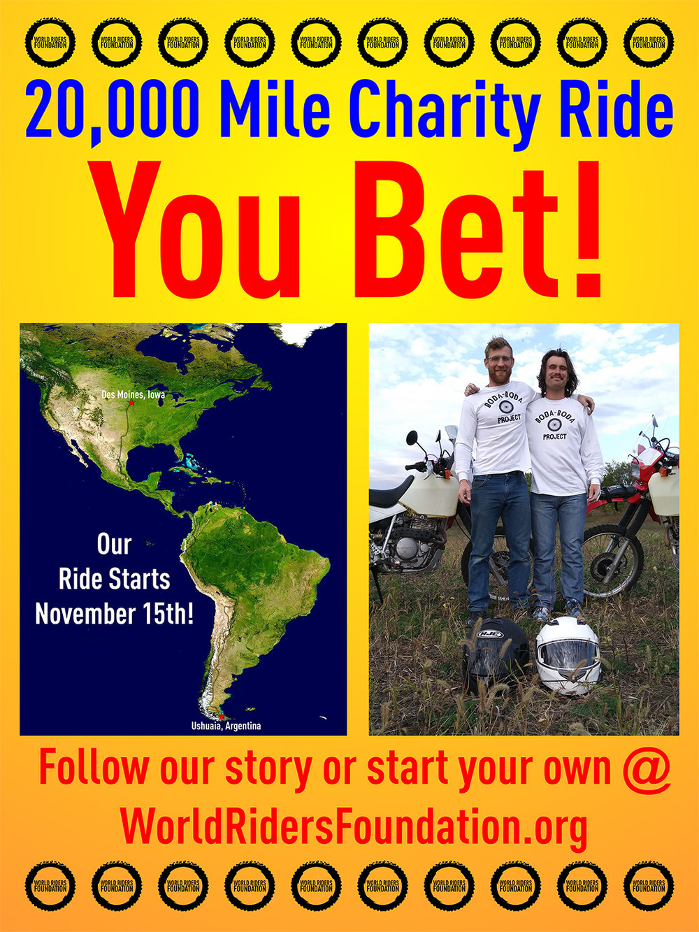 Ross Naylor World Riders Foundation Charity Ride Poster.jpg