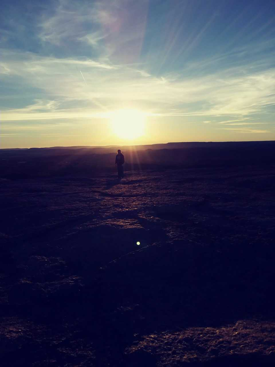 Enchanted Rock, Fredericksburg TX... 7am Thanksgiving Morning