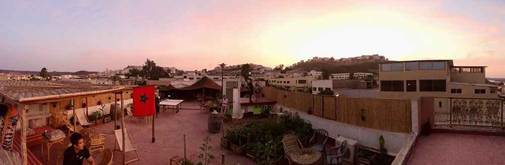 A pano of our outdoor space. You can get me to do anything out here. (Minus weird stuff, get your head out of the gutter, creep.)