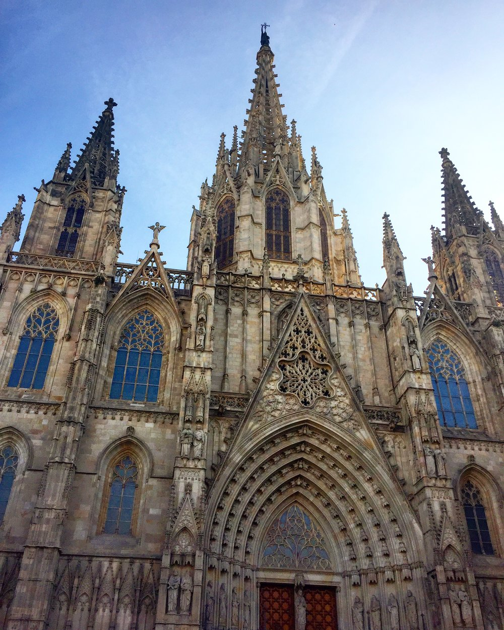 Gothic Cathedral in Barca