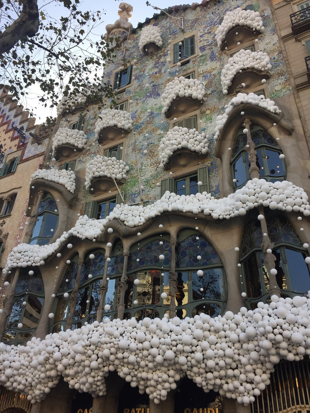 Casa Mila, which I didn't go into, but is still stunning from the outside.