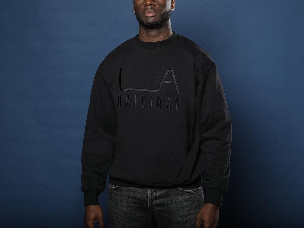 LA Original Black Sweatshirt     Click to buy