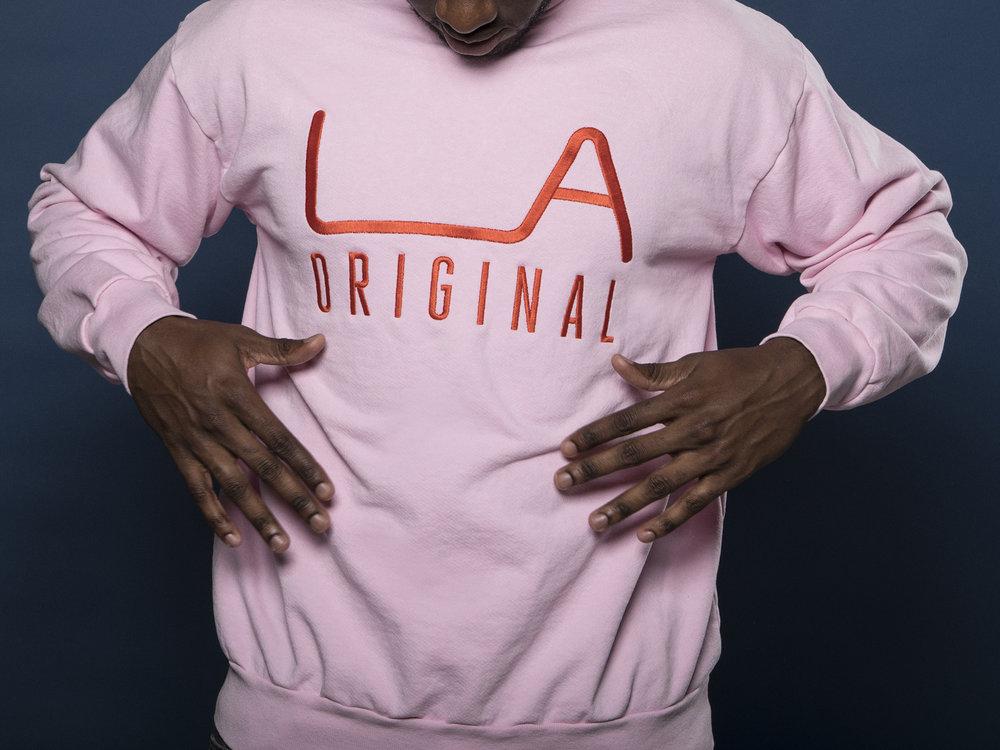 LA Original Pink Sweatshirt     Click to buy
