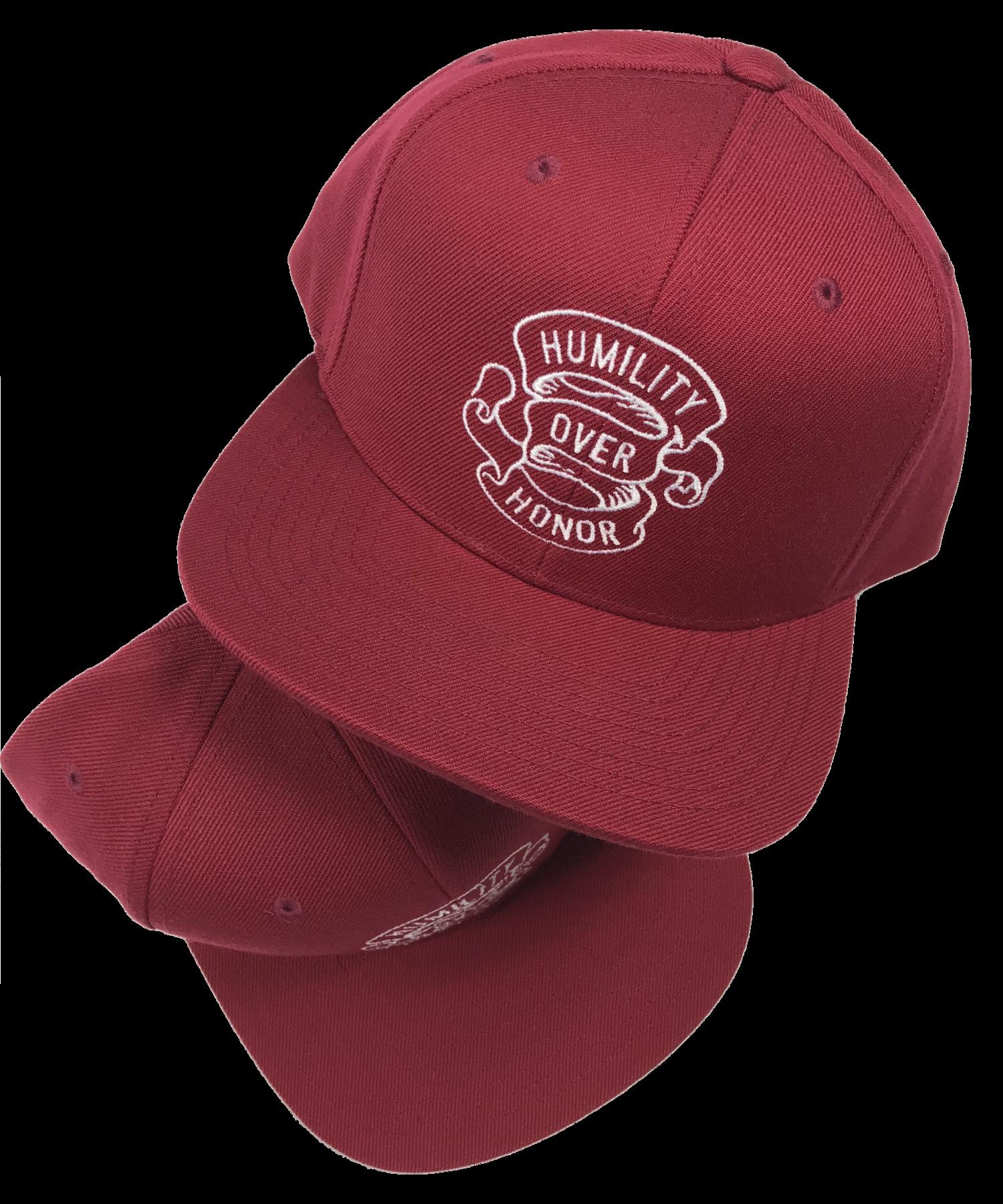 3f816b71d5950 Humility Over Honor Flat Bill Snapback - Maroon. 16.00 22.00. sale. HOH  Maroon.png