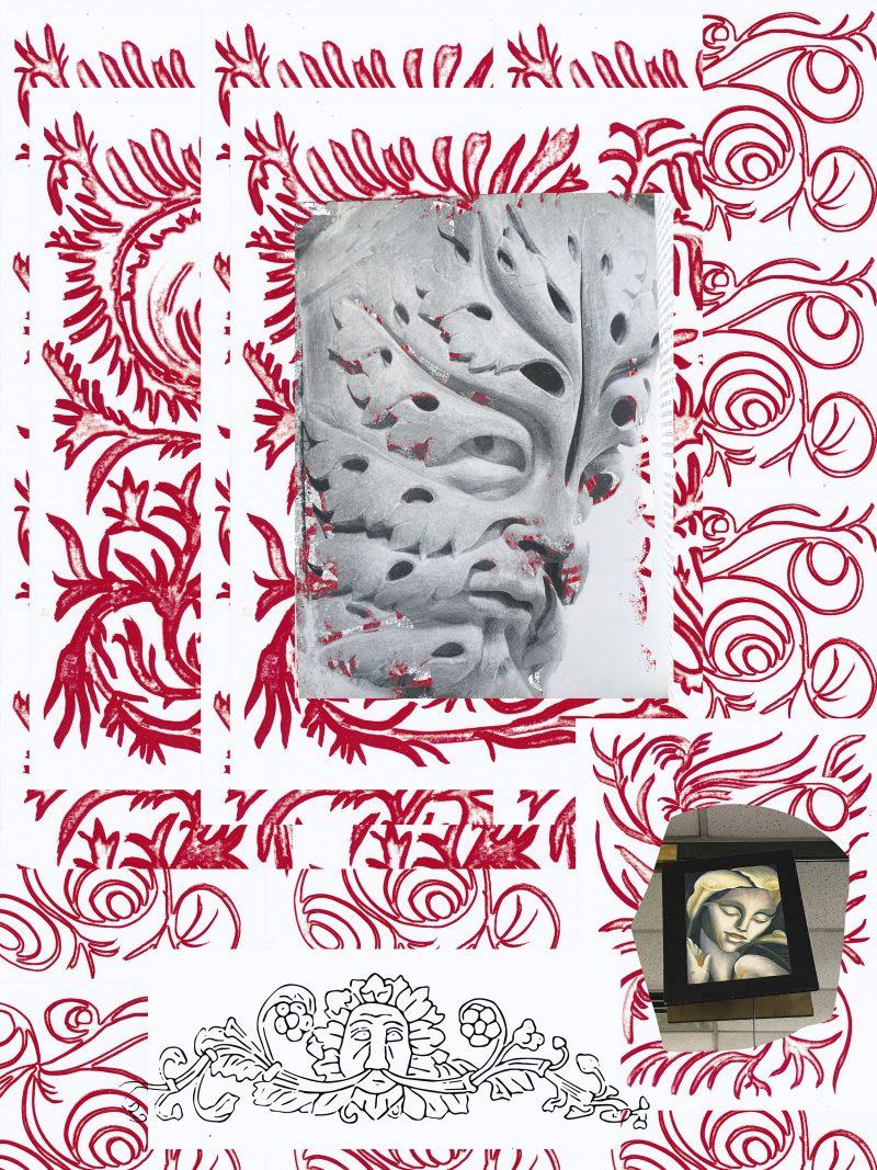 offspace-xyz-TravessSmalley-Notesonthegreenman-architectural-illustrationandgreenwoman-thelaundromatcallalilyTamaraLempicka-2016-e1475512322919.jpg