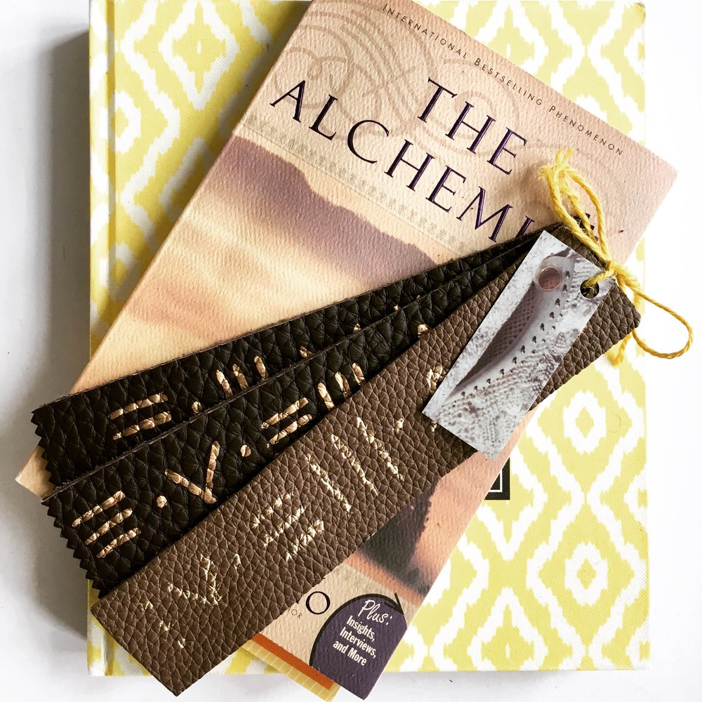 Hand-Painted Leather Bookmarks 3pack.JPG