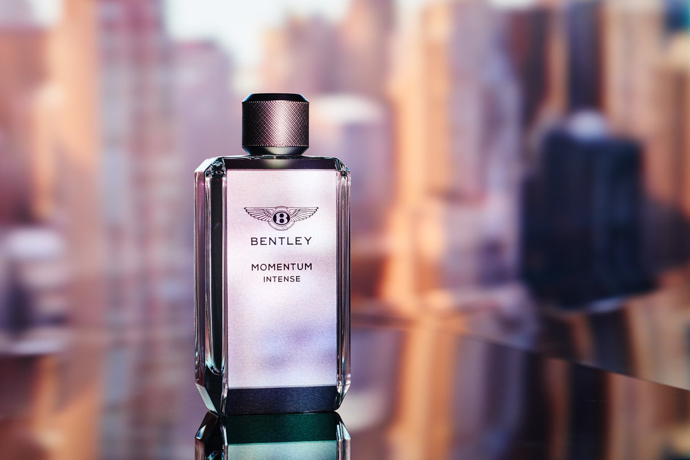 *Bentley Momentum becomes third pillar in fragrance range       *Bracingly masculine scent matched with sleek modern presentation      *Exceptional materials and exciting contrasts deliver intensity