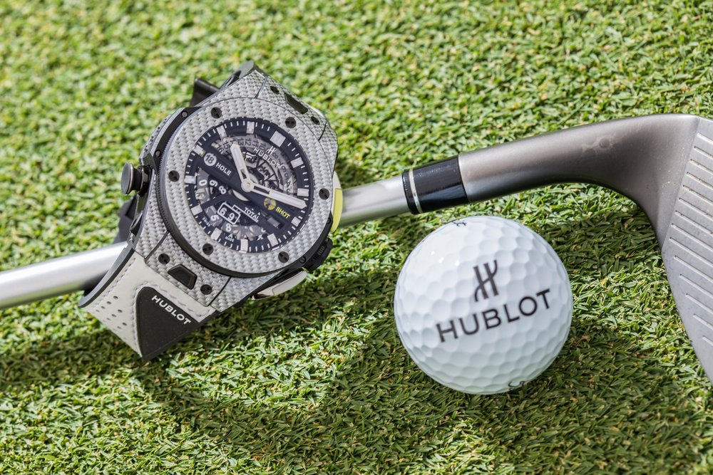 A hole-in-one for Hublot with the Big Bang Unico Golf!