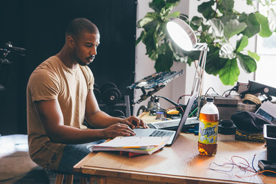"""Brisk encourages the same boldness and creativity that I strive for in my work and with my production company, Outlier Society,"" said Michael B. Jordan. ""That's why I'm honored to be a part of the Creators Class and offer up-and-coming hustlers the opportunity to work on this special Outlier Society project."""