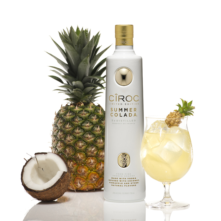 """This summer we're bringing back Summer Colada, one of our most successful limited edition variants,"" said Sean ""Diddy"" Combs, Chairman of Combs Enterprises. ""We're pairing it with CÎROC fan favorites to create the ultimate Summer Collection. CÎROC continues to grow and thrive with flavor innovation and year after year is a dominant force in the market."""