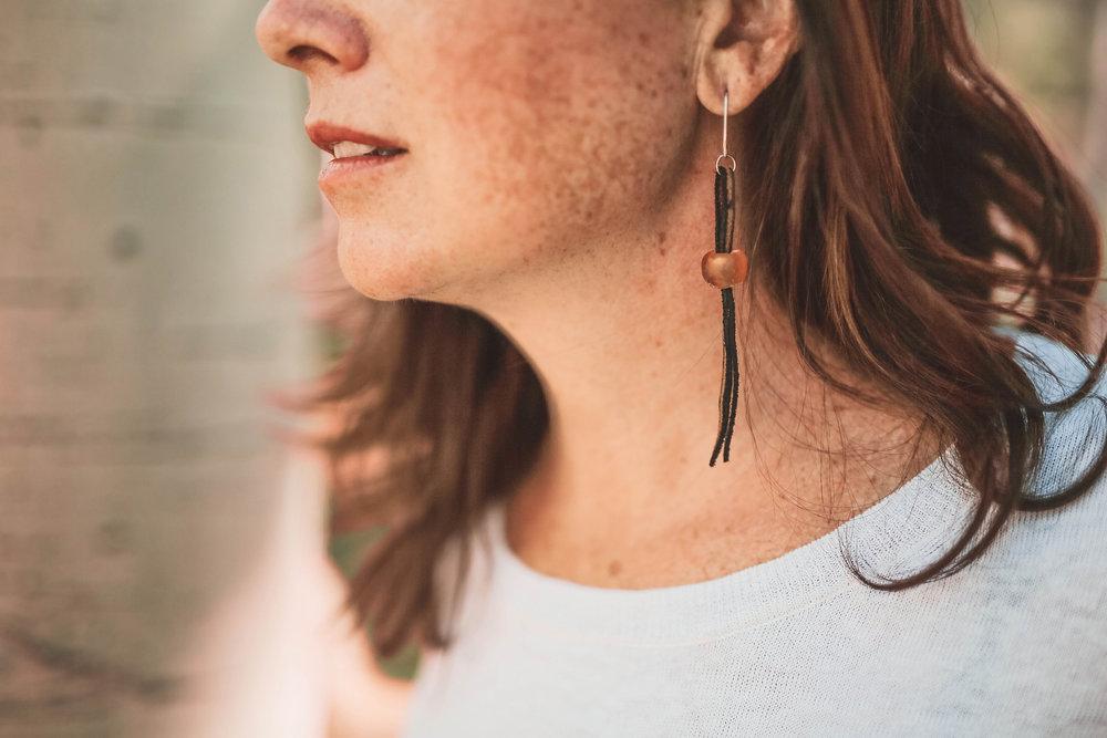 Sarai - close up amber earring.jpg