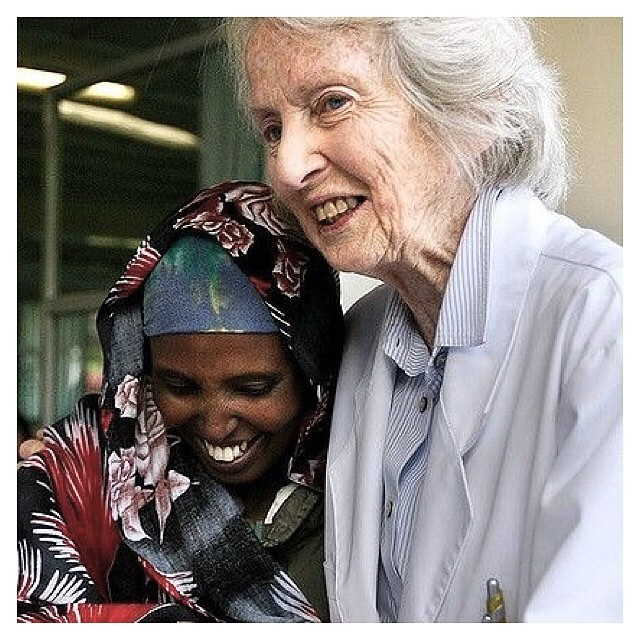 LAST DAYS to help us help this amazing woman - Dr Catherine Hamlin @hamlinfistula 🙌🏼 We will soon be closing down our online store, so you have until midnight Sunday 25th June to purchase a gift and help save another woman from a life of misery 🙏🏼 All remaining gifts are 30% off with code ENDFISTULA 👌🏼 Save some cash, gift yourself a voucher and then take advantage of all the latest winter fashion sales... ✨✨✨