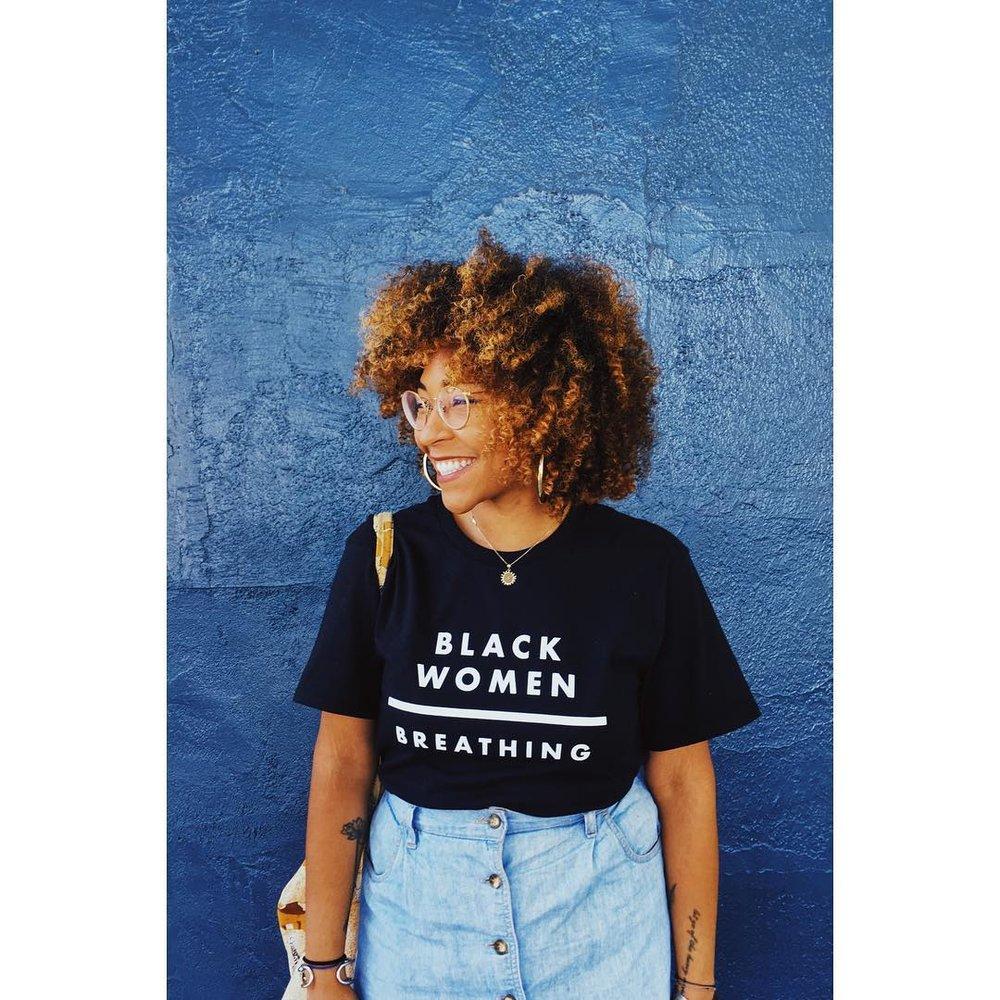 black women breathing